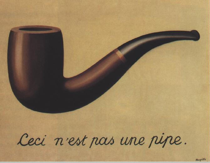<p>形象的叛逆(這不是一個煙斗) The Treachery of Images(This is not a pipe)</p>